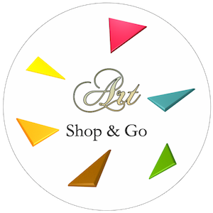 logo art shop and go