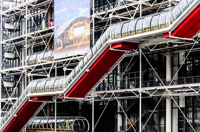 Centre Pompidou à Paris