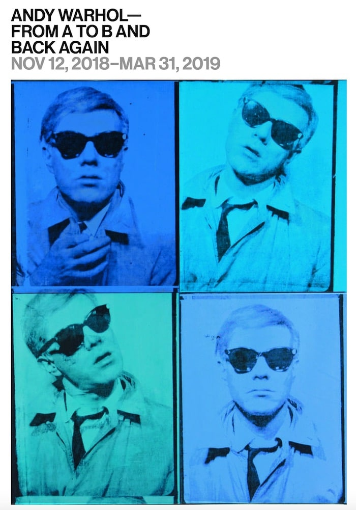 Exposition Andy Warhol à New York au Whitney Museum of American Art