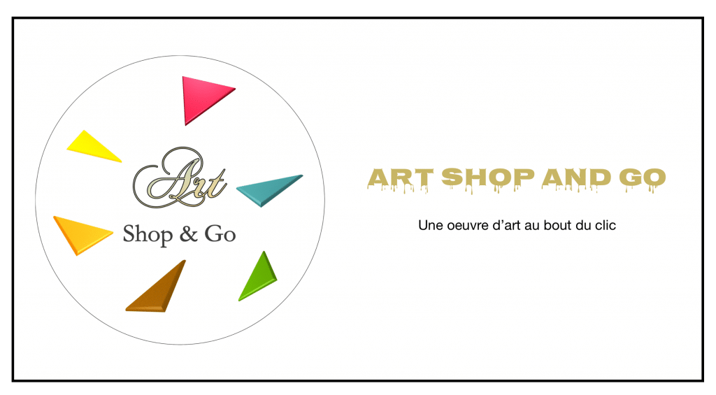 Logo ART SHOP AND GO : une oeuvre d'art au bout du clic