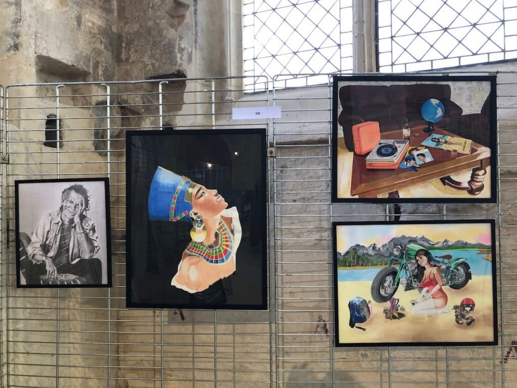 Liste Des Artistes Peintres Contemporains senlis art fair 2019 - salon d'art contemporain dans l'oise