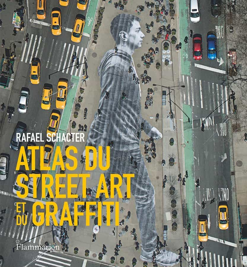 Couverture de l'atlas du street art et du graffiti