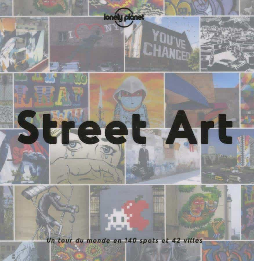 Couverture du guide Street art par Lonely Planet
