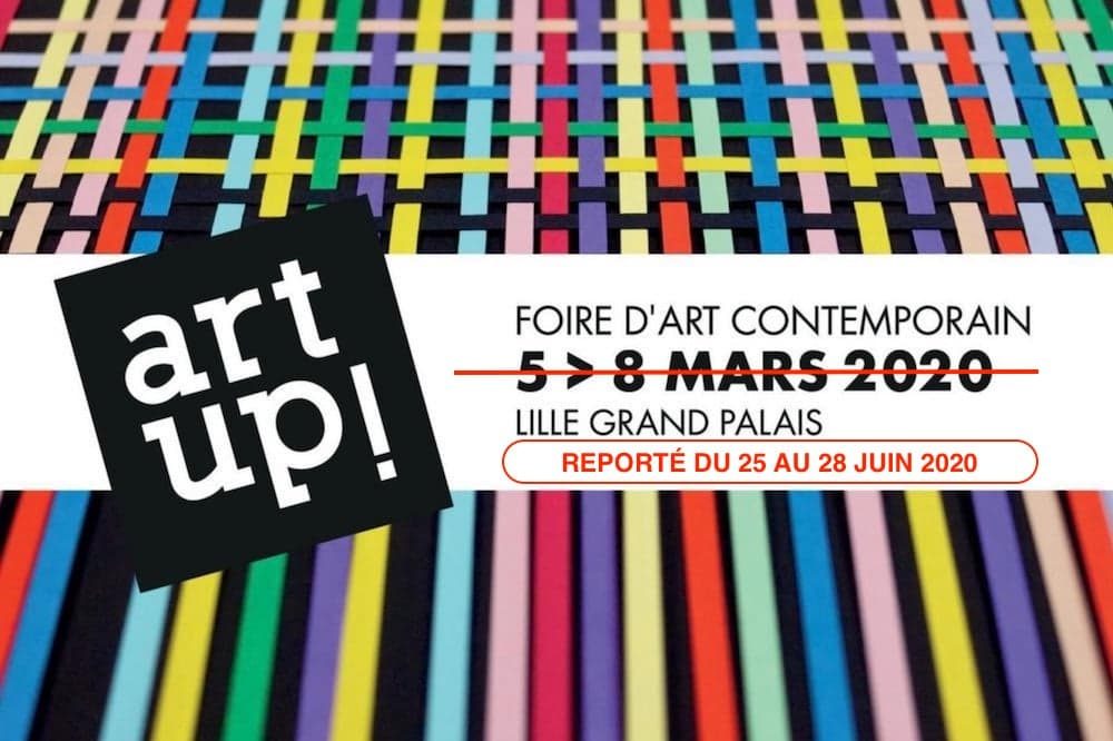 Affiche Art Up Lille 2020, report en juin