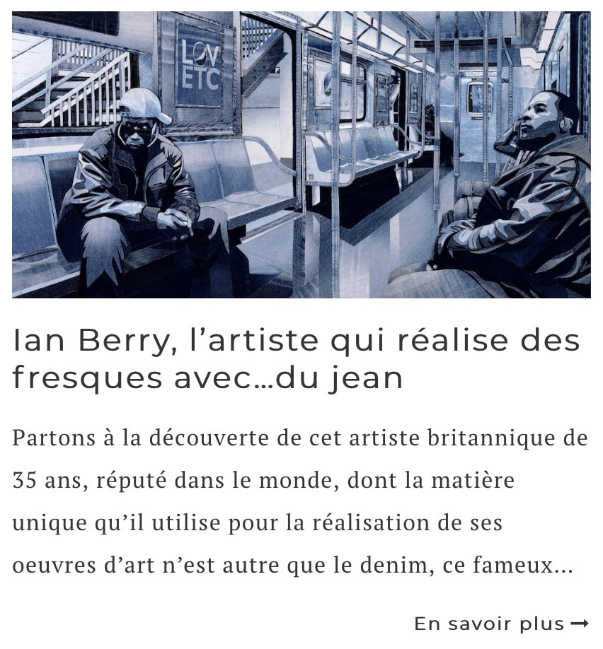 Article sur l'artiste Ian Berry